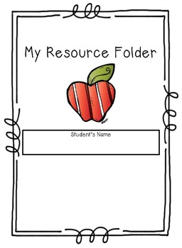 Math/ELA CCSS  20 Resource Folder Inserts! Reference,Reinforce,Reteach! 4th-6th