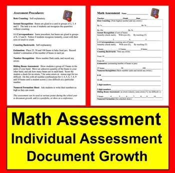Math Early Assessment
