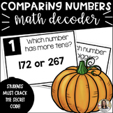 Math Early Finisher Activity: 2nd Grade Comparing Numbers