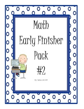 Math Early Finisher Pack #2