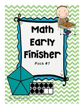 Math Early Finisher Pack #7