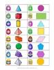 Math Easter Egg Hunt - 2D and 3D Shapes