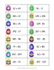 Math Easter Egg Hunt - Addition and Subtraction with Regrouping