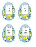 Math Easter Egg Hunt - Addition with Regrouping Version (Q