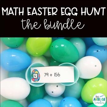 Math Easter Egg Hunts - Bundle