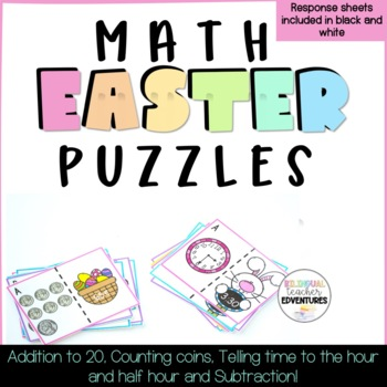 Math Easter Puzzles