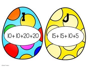 Math Egg Hunt
