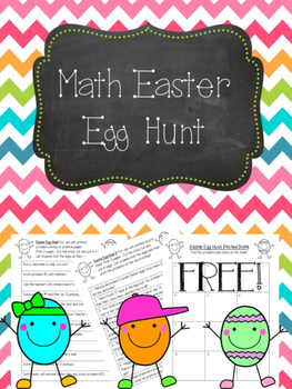 Math Easter Egg Hunt