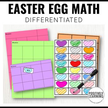 Easter Egg Math Center