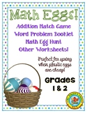 Math Eggs Activities - Grades 1 & 2