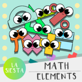 Math Elements Clipart