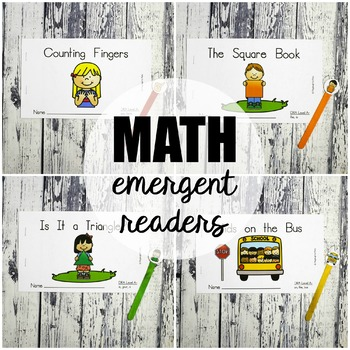 Math Emergent Readers