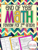 End of Year Review BUNDLE - Math