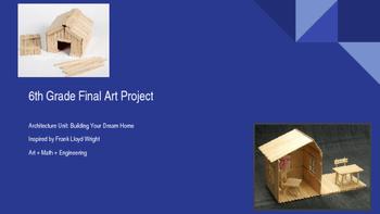 Math, Engineer, Art STEAM Project - Middle School Sculptur