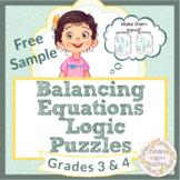 Math Enrichment 3rd Grade 3 4th Grade 4 Math Logic Puzzles Free Sample