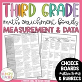 Math Enrichment Board for Measurement and Data Third Grade