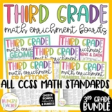 Math Enrichment Board for Third Grade **All Standards**