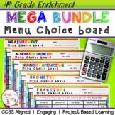 4th Math Enrichment Projects Bundle - ALL CCSS Standards –