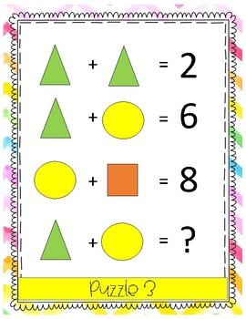Math Enrichment Number Puzzles