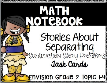 Math Envision 1 Topic/Chapter 1 Grade 2 Math Notebook Bundle