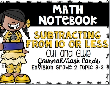 Math Envision Topic 3 Grade 2 Math Notebook Bundle