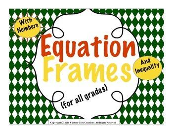 Math Equation Template