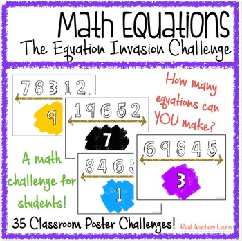 Math Equations: The Equation Invasion Math Challenge for Students