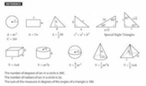 Math Equations and Conversions Test