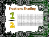 Math Equivalent Fractions Coloring / Shading Activity