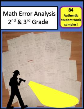 Math Error Analysis Bundle (2nd, 3rd grade)