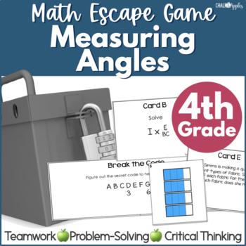 Math Escape - Measuring Angles Game