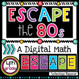 4th Grade Math Review |  Math Escape Room Review Activity