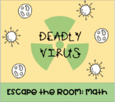Math Escape Room: Deadly Virus (Combining Like Terms, Alge