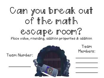 Math Escape Room EDITABLE
