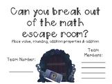 Math Escape Room Version 1