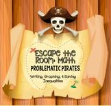 Math Escape Room: Problematic Pirates (Inequalities)