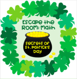 Math Escape Room: Secrets of St. Patrick's Day