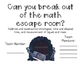 Math Escape Room Version 2 NO PREP