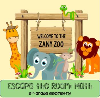 Math Escape Room: Zany Zoo