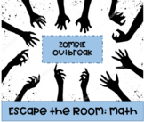 Math Escape Room: Zombie Outbreak (GCF/LCM, Division, Distributive Property)