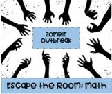 Math Escape Room: Zombie Outbreak (GCF/LCM, Division, Dist