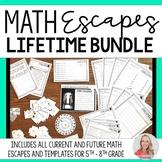 Math Escapes Bundle