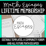 Math Escapes Bundle