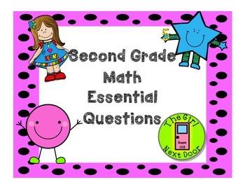 Math Essential Questions-Grade 2