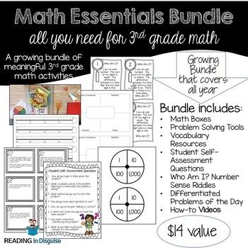 Math Essentials Bundle