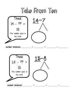 Math Eureka MathTake from Ten concept