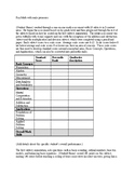 Math Evaluation Report Template
