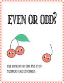 Math: Even and Odd number Exploration