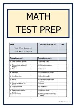 Math Exam Prep