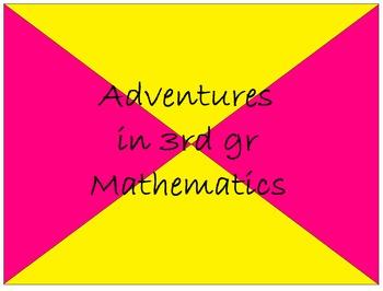 Math Exams/Handouts - 3rd Gr Bundle